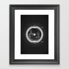 Hollow Earth Framed Art Print