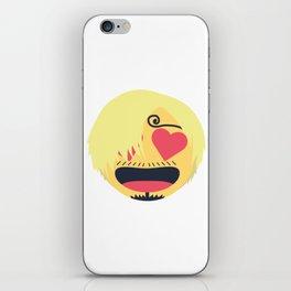 Sanji Emoji Design iPhone Skin