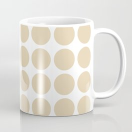 Ivory Neutral Dots Coffee Mug