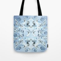 crystals Tote Bags featuring Crystals by Armin