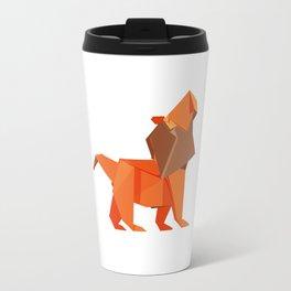 Origami Lion Travel Mug