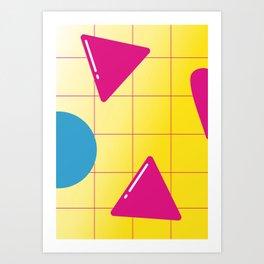 Geometric Calendar - Day 16 Art Print