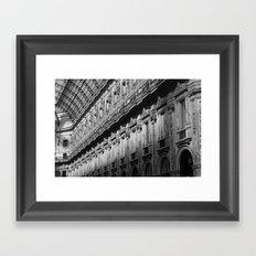 Galleria Vittorio Emanuele Framed Art Print