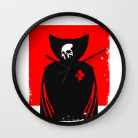 death Wall Clocks featuring death by dann matthews