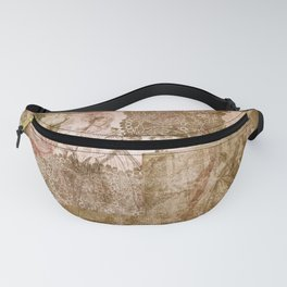 Vintage & Shabby Chic - Victorian ladies pattern Fanny Pack