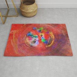 Abstract Mandala 1902 Rug