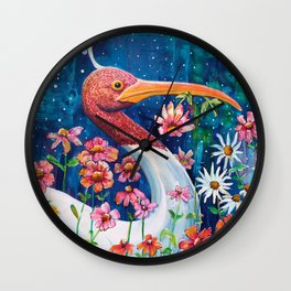 Garden of Zen Wall Clock