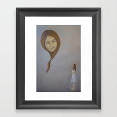 Floater III Framed Art Print