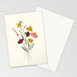 Wildflowers Bouquet Stationery Cards