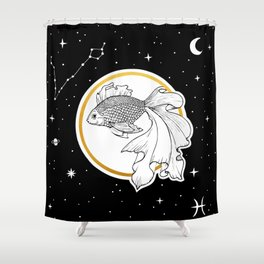 Pisces [Horoscope Collection] Shower Curtain