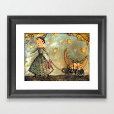 Moon Keeper Framed Art Print