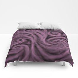 dark lavender swirl Comforters