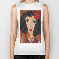 gypsy Biker Tanks featuring GYPSY by Knittingandthings