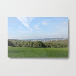 Scenic View over Wuppertal Metal Print