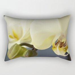 White orchid #2 Rectangular Pillow