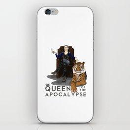 Queen of the apocalypse iPhone Skin