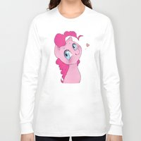 mlp Long Sleeve T-shirts featuring Pinkie Pie MLP Cuteness by oouichi