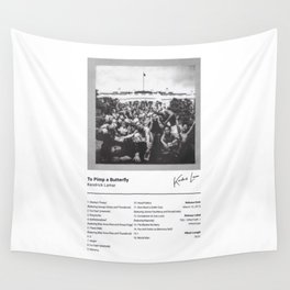 Kendrick Lamar - To Pimp a Butterfly Wall Tapestry