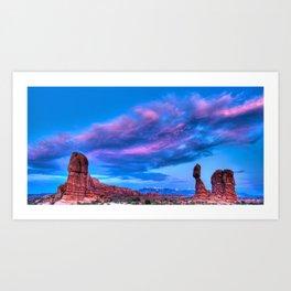 """Balanced Sunset"" Art Print"