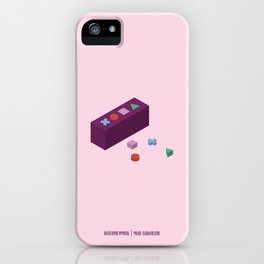 PAUSE – Building Blocks iPhone Case