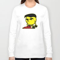 pac man Long Sleeve T-shirts featuring Pac-Man by La Manette