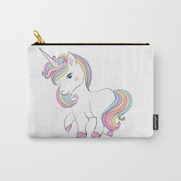 Cute unicorn.Cooler than a unicorn T-shirt  Carry-All Pouch
