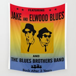 Mission From God Blues Brothers Wall Tapestry