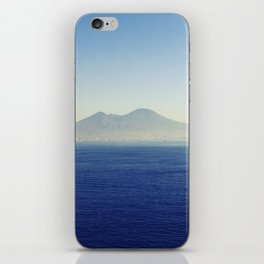 Naples sea at morning iPhone Skin