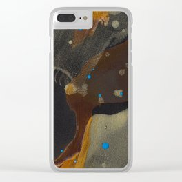 joelarmstrong_rust&gold_046 Clear iPhone Case