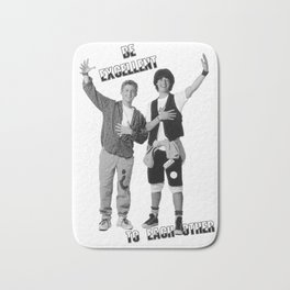 Bill and Ted's Excellent Adventure Bath Mat