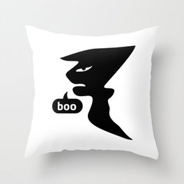 Ghost Of Disapproval #society6 #decor #buyart #artprint Throw Pillow