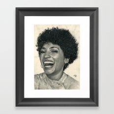 Jasika Nicole Traditional Portrait Print Framed Art Print