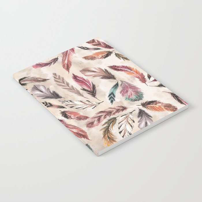 Feather Love Notebook