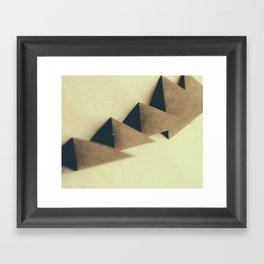 Pyramidal Tract Framed Art Print