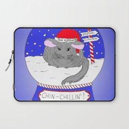 Chin-Chillin' Christmas Laptop Sleeve