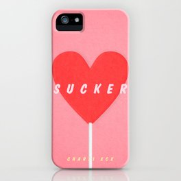 SUCKER / Charli XCX iPhone Case