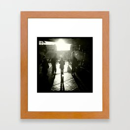 Beginning to See the Light Framed Art Print