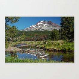 South Sister Mountain, Central Oregon Canvas Print