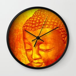 Buddha from Sri Lanka Wall Clock