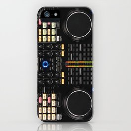 DJ Set NS7 Denon Mc6000 iPhone Case