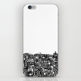 Disorganized Speech #2 iPhone Skin