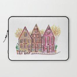 Coloured houses II Laptop Sleeve