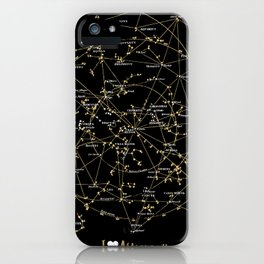 Stars Constellations Love Astronomy Cosmos Galaxy Universe iPhone Case