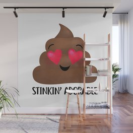 Stinkin' Adorable - Poop Wall Mural