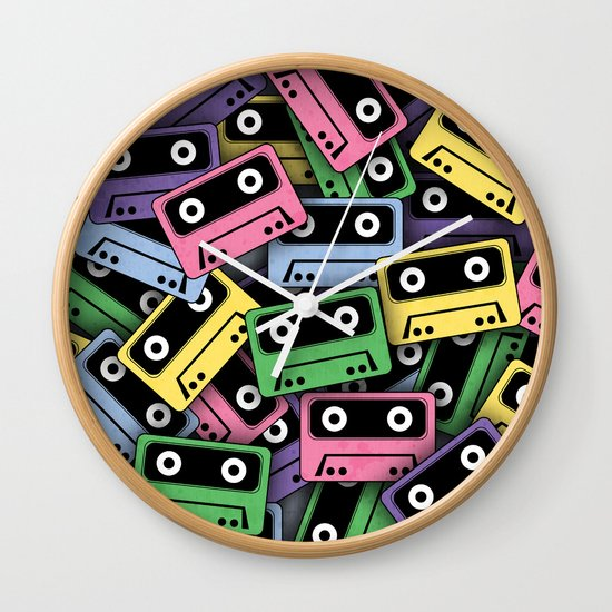 80's Kicks! Wall Clock