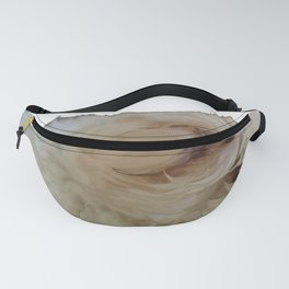 Grumpy Terrier Dog Face Fanny Pack