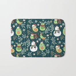 Christmas Avocado Bath Mat