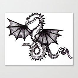 dragon city Canvas Print