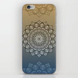 Harmony mandala iPhone Skin
