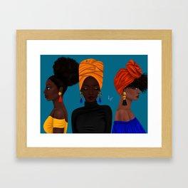 afrocentric Framed Art Print